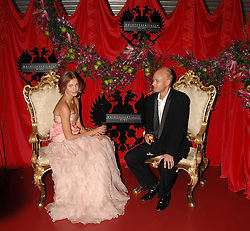 The HON.JUSTIN PORTMAN and NATALIA VODIANOVA at The Diner Des Tsars in aid of Unicef to celebrate the launch of Quintessentially Wine held at the Guildhall, London EC2 on 29th March 2007.<br /><br />NON EXCLUSIVE - WORLD RIGHTS