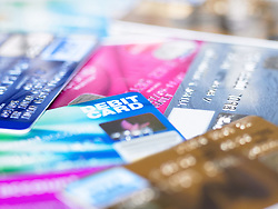 Dec. 14, 2012 - Credit and debit cards (Credit Image: © Image Source/ZUMAPRESS.com)