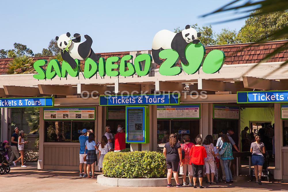 San Diego Zoo Entrance at Balboa Park