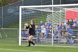 04 November 2016:  Cassidy Lentz during an NCAA Missouri Valley Conference (MVC) Championship series women's semi-final soccer game between the Loyola Ramblers and the Evansville Purple Aces on Adelaide Street Field in Normal IL