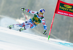 PINTURAULT Alexis of France competes in 1st Run during Men Giant Slalom race of FIS Alpine Ski World Cup 54th Vitranc Cup 2015, on March 14, 2015 in Kranjska Gora, Slovenia. Photo by Vid Ponikvar / Sportida