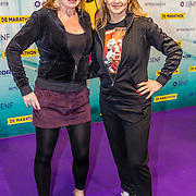 NLD/Rotterdam/20170319 - inloop De Marathon de Musical, Marian Mudder en Cynthia Abma