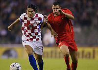 Fotball<br /> EM-kvalifisering<br /> 10.09.2003<br /> Belgia v Kroatia<br /> NORWAY ONLY<br /> Foto: Phot News/Digitalsport<br /> <br /> DOVANI ROSO / JELLE VAN DAMME