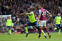 Aston Villa v Derby County - Sky Bet Championship<br /> BIRMINGHAM, ENGLAND - APRIL 28 :  Derby County's Cameron Jerome gets fouled by Aston Villa's John Terry