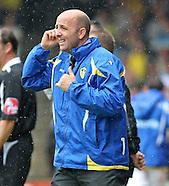 Scunthorpe United v Leeds United 090808