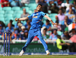 India's Yuzvendra Chahal during the ICC Cricket World Cup Warm up match at The Oval, London.