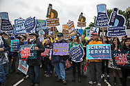 March for Science in Washignton D.C.  on Earth Day