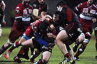 Franck Romanet - 31.01.2015 - Lyon OU / Racing Metro 92 - 17eme journee de Top 14<br />Photo : Jean Paul Thomas / Icon Sport