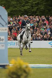 Ahlmann, Dirk, Carosso<br /> Hamburg - Hamburger Derby 2015<br /> 86. Deutsches Springderby<br /> © www.sportfotos-lafrentz.de/Stefan Lafrentz