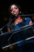 """15 November 2010- New York, NY- NAN National Executive Director Tamika Mallory at The National Action Network's 1st Annual Triumph Awards honoring """"Our Best"""" in the Arts, Entertainment, & Sports held at Jazz at Lincoln Center on November 15, 2010 in New York City. Photo Credit: Terrence Jennings"""