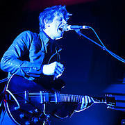 WASHINGTON, D.C.  - March 23 -  Britt Daniel and Spoon play the first of two sold out shows at the 9:30 Club.  The band is currently touring behind their latest album, Transference.  (Photo by Kyle Gustafson)