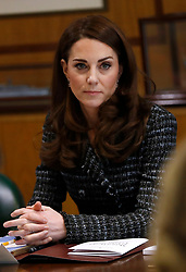 The Duchess of Cambridge attends the Royal Foundation's Mental Health in Education conference, which will see experts discuss what more can be done to tackle mental health issues in schools, at Mercer's Hall in London.