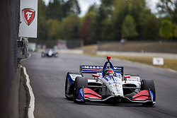 August 31, 2018 - Portland, Oregon, United Stated - MARCO ANDRETTI (98) of the United States takes to the track to practice for the Portland International Raceway at Portland International Raceway in Portland, Oregon. (Credit Image: © Justin R. Noe Asp Inc/ASP via ZUMA Wire)