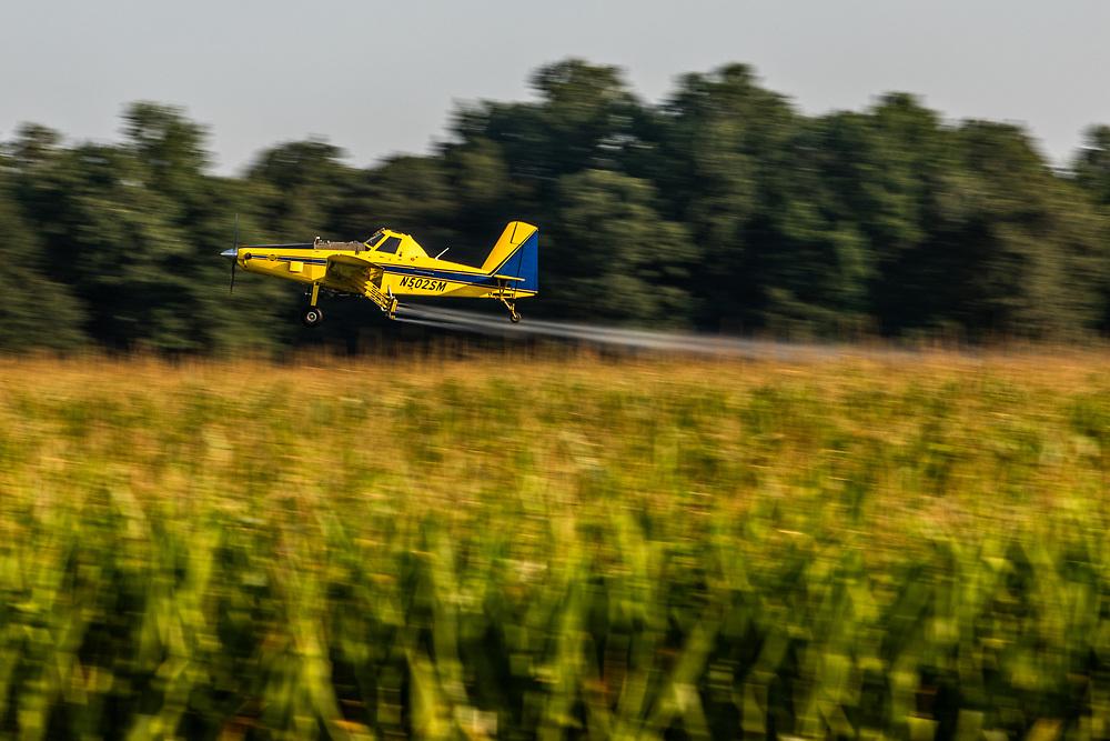 Virginia Living (Farming)<br /> Crabbe Aviation