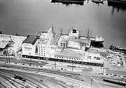 Ackroyd 05425-3. Crown Mills. Aerials. August 4, 1954 (NW Portland waterfront)