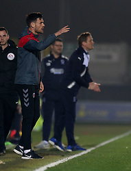 Charlton Athletic's assistant caretaker manager Johnnie Jackson gestures on the touchline