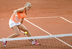 08-02-2015 NED: Fed Cup Nederland - Slowakije, Apeldoorn<br /> Arantxa Rus