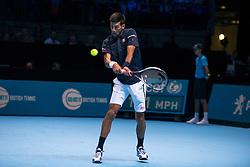 November 13, 2016 - London, United Kingdom - Novak Djokovic (SRB) VS Dominic Thiem (AUT) play the first mach of Round Robin ATP Finals at The O2 (Credit Image: © Alberto Pezzali/Pacific Press via ZUMA Wire)