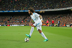 May 6, 2018 - Barcelona, Catalonia, Spain - Marcelo Vieira during the match between FC Barcelona and Real Madrid CF, played at the Camp Nou Stadium on 06th May 2018 in Barcelona, Spain.  Photo: Joan Valls/Urbanandsport /NurPhoto. (Credit Image: © Joan Valls/NurPhoto via ZUMA Press)