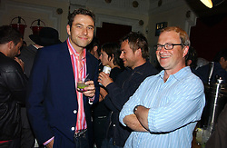 Left to right, DAVID WALLIAMS, DAMON ALBARN and HARRY ENFIELD  at the Grand Classics screening of Brighton Rock hosted by Paul Simonon at The Electric Cinema, Portobello Road, London W11 on 5th June 2006.<br /><br />NON EXCLUSIVE - WORLD RIGHTS