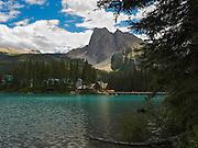 View of Emerald Lake Lodge; Yoho National Park, near Golden, British Columbia, Canada.