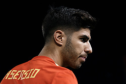 September 11, 2018 - Elche, Alicante, Spain - Marco Asensio of Spain looks on during the UEFA Nations League A group four match between Spain and Croatia at Martinez Valero  on September 11, 2018 in Elche, Spain  (Credit Image: © David Aliaga/NurPhoto/ZUMA Press)