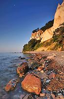Chalk cliffs Gråryg  and Gråryg Fald - Møns Klint, Denmark