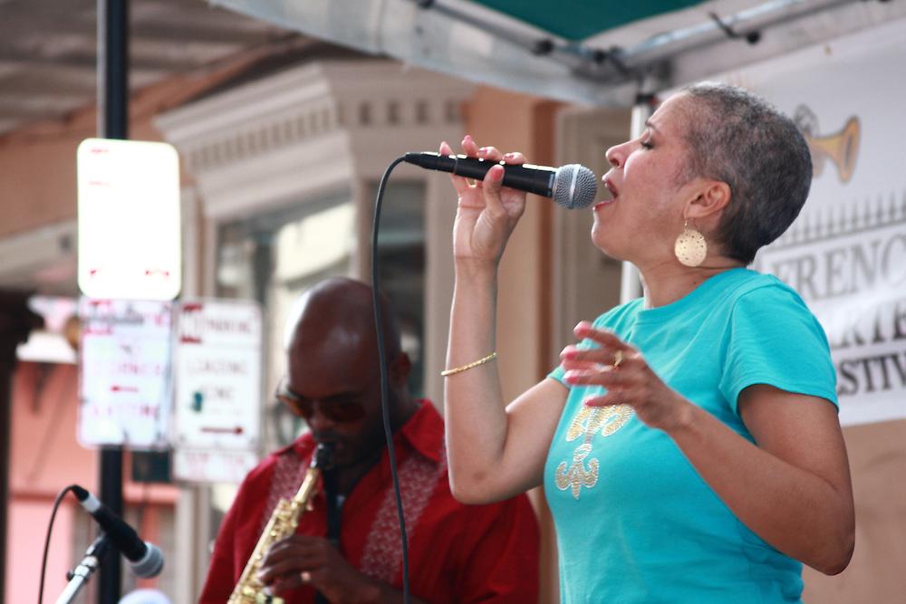 Jazz on Royal St. - Arlee Leonard, Khari Lee