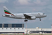 LZ-FBA Bulgaria Air Airbus A319 at Milan - Malpensa (MXP / LIMC) Italy