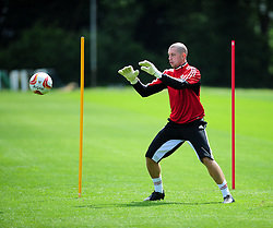Bristol City's Frank Fielding - Photo mandatory by-line: Dougie Allward/JMP - Tel: Mobile: 07966 386802 28/06/2013 - SPORT - FOOTBALL - Bristol -  Bristol City - Pre Season Training - Npower League One