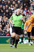 Photo: Mark Stephenson/Sportsbeat Images.<br /> West Bromwich Albion v Wolverhampton Wanderers. Coca Cola Championship. 25/11/2007.Referee Mr C  Foy