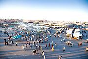 djemaa el fna in Marrakech morocco Morocco travel photography