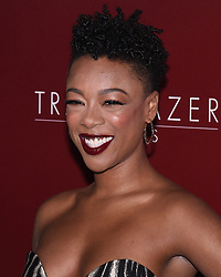 February 20, 2019 - SAMIRA WILEY attends VH1 Trailblazer Honors celebrate female empowerment held at Wilshire Ebell Theatre. (Credit Image: © Billy Bennight/ZUMA Wire)