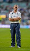 Twickenham, England.  QBE International. England vs France [World cup warm up match] Stuart LANCASTER,   {DOW}, {DATE}, <br /> <br />   [Mandatory Credit. Peter SPURRIER/Intersport Images.