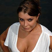 NLD/Amsterdam/20070610 - Presentatie Playboy's Playmates Collectors Special Edition, playmate en model Olga Urashova