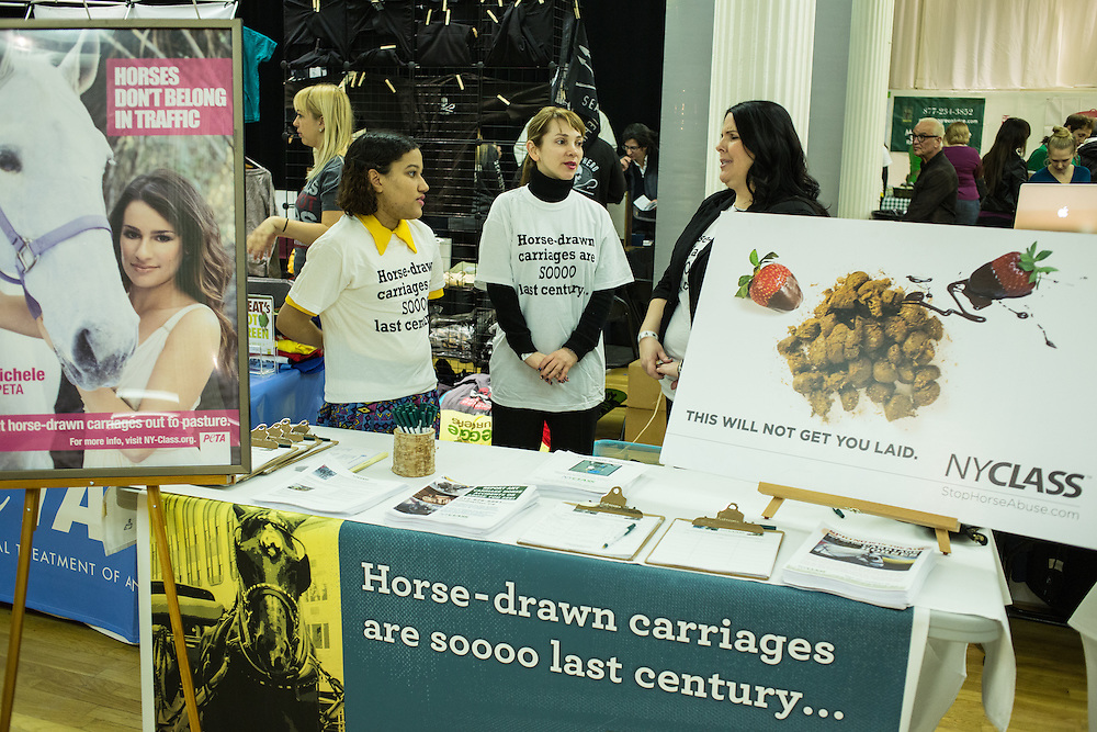 NYCLASS, New Yorkers for Clean, Livable and Safe Streets, campaigns to end carriage horses in New York City.