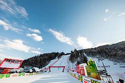 Race Hill during Ladies' Giant Slalom at 57th Golden Fox event at Audi FIS Ski World Cup 2020/21, on January 16, 2021 in Podkoren, Kranjska Gora, Slovenia. Photo by Vid Ponikvar / Sportida