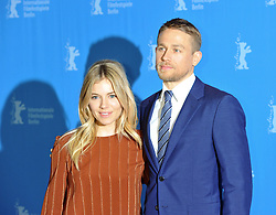 """Sienna Miller, Charlie Hunnam attending the photocall for """"The Lost City of Z"""" as part of the 67th Berlin International Film Festival, Berlin, Germany."""