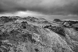 Geothermal area at Namaskard, north east Iceland - Jarðhitasvææðið við Námaskarð