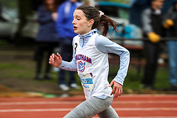 GIrls One Mile run, age 11-14, Shea, Elise<br /> 2019 Adrian Martinez Track Classic