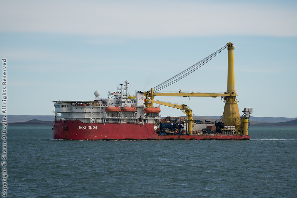 Jascon 34, Straits of Magellan