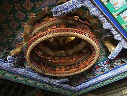 June 9, 2017 - Beijin, Beijin, China - Beijing, CHINA-June 9 2017: (EDITORIAL USE ONLY. CHINA OUT) ..Temple of Agriculture, also known as Altar of Agriculture, is a historic site in Beijing, China, and located near the Temple of Heaven. The Temple of Agriculture was built in the 15th century. It was used by Ming and Qing emperors to perform sacrifices. (Credit Image: © SIPA Asia via ZUMA Wire)