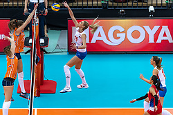 11-10-2018 JPN: World Championship Volleyball Women day 12, Nagoya<br /> Netherlands - Serbia 3-0 / Jovana Stevanovic #15 of Serbia