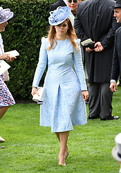 Princess Beatrice of York during day one of Royal Ascot at Ascot Racecourse