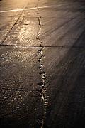 March 18-20, 2021:  IMSA Weathertech Mobil 1 Sebring 12h: Sebring detail, crack, pavement, runway, turn 17
