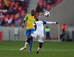 Tshwarelo Bereng of Chippa United during the 1st leg of the MTN8 Semi Final between Chippa United and Mamelodi Sundowns held at the Nelson Mandela Bay Stadium in Port Elizabeth, South Africa on the 11th September 2016<br /><br />Photo by: Richard Huggard / Real Time Images