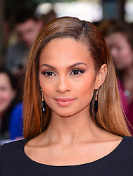 Image ©Licensed to i-Images Picture Agency. 05/06/2014. London, United Kingdom. Alesha Dixon attends Belle - UK film premiere. Picture by Nils Jorgensen / i-Images