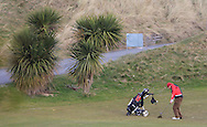 Leonard Owens (Dublin) on the 9th fairway during the PGA Winter Series Southern Branch in Rush Golf Club on Friday 20th March 2015.<br /> Picture:  Thos Caffrey / www.golffile.ie