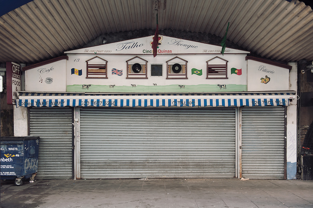O Talho Portuguese Butchers.<br /> 13 Atlantic Road.<br /> <br /> Manuel Fernandez opened O Talho 22 years ago. If the shop closes 6 people and 2 families will be affected.