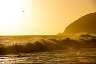 Surf and ocean images from Malibu, CA.